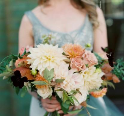 dahlia, chocolate cosmo, wedding, frankies 457, fall wedding