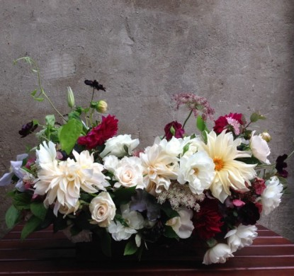 poppies and posies florals