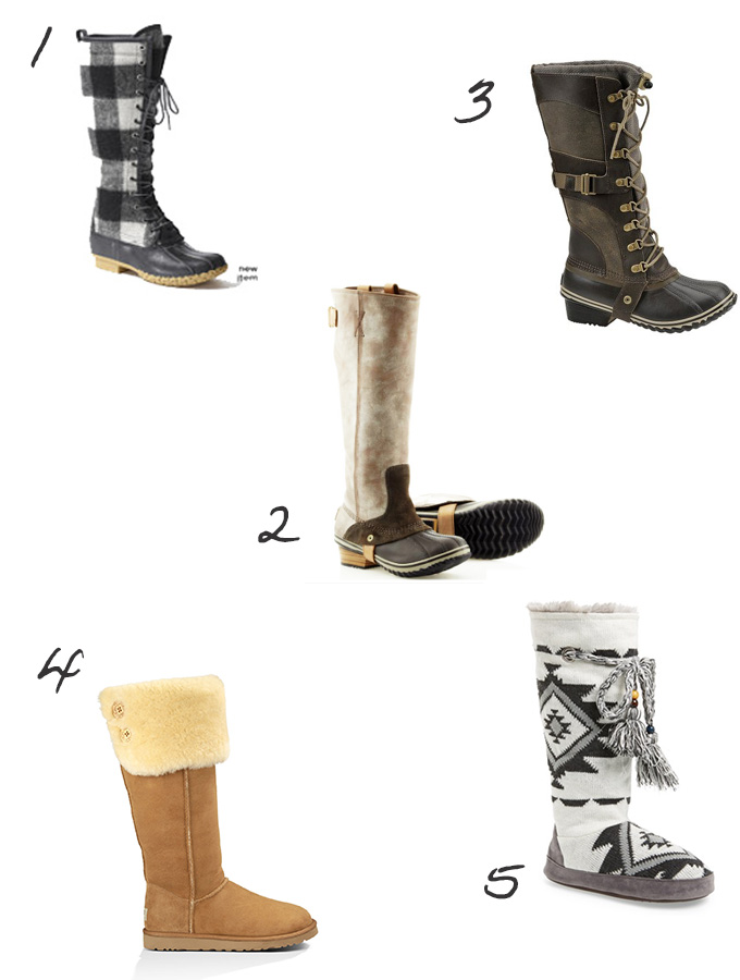 Winter Boot Picks