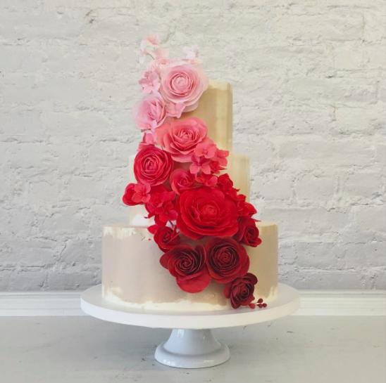 nine cakes, brooklyn, cake maker, wedding cake, dessert, cake